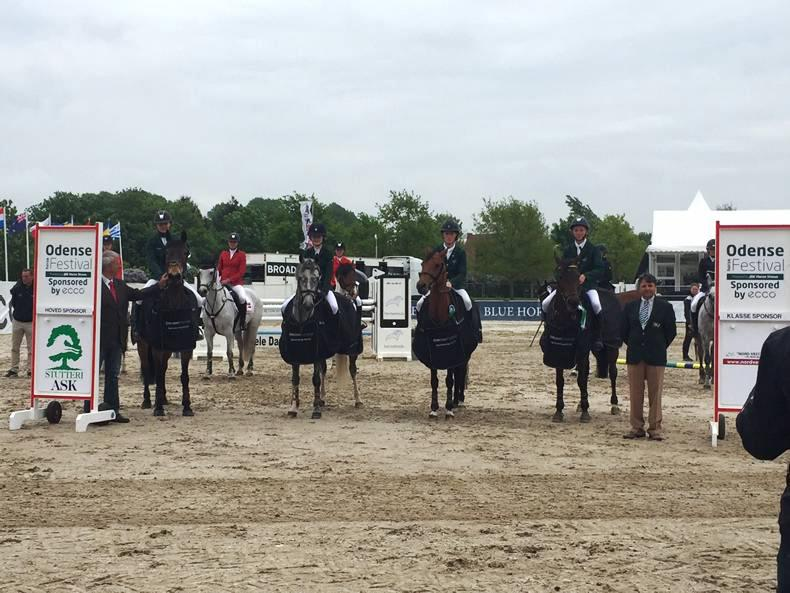 Irish pony riders shine in Odense Nations Cup