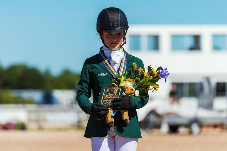 Ireland's Zara Nelson and Millridge Buachaill Bui win Berney Bros CCI* pony
