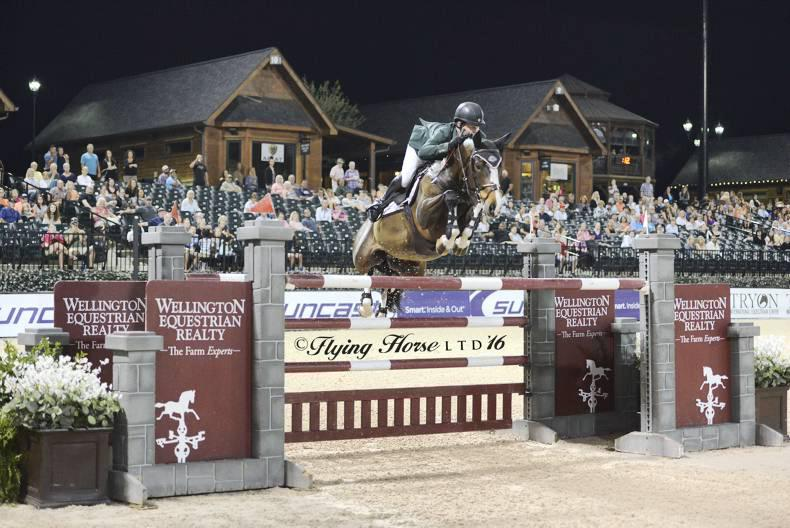 Father and son score wins for Shane Sweetnam at Tryon