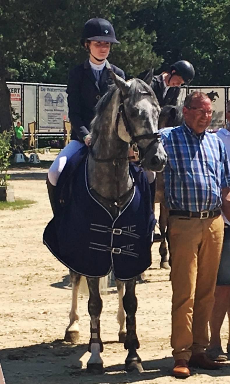 Dynamite double for Abbie Sweetnam in Belgium