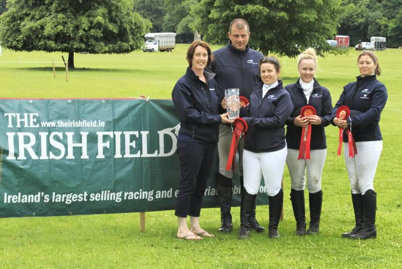 Ashbrook record Challenge hat-trick