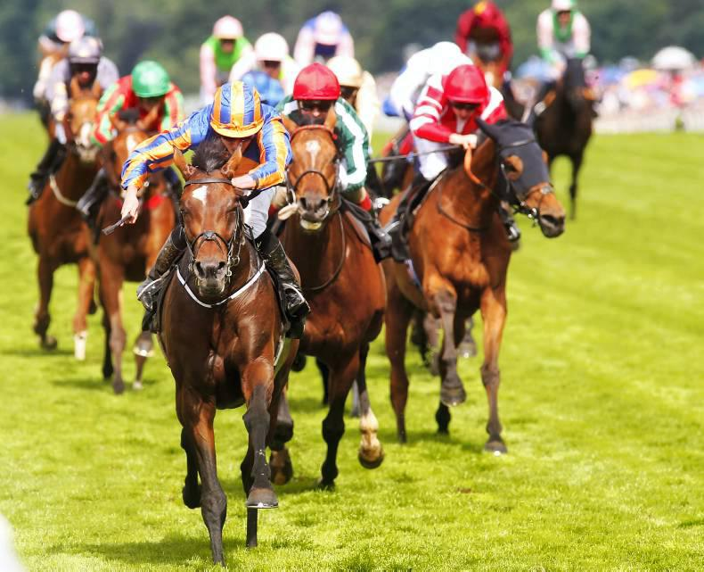 ROYAL ASCOT: Seventh heaven as St George is best