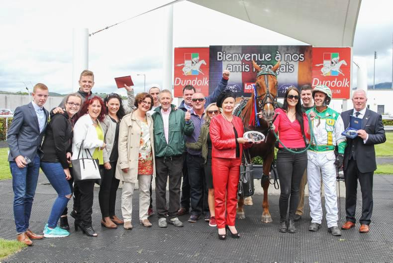 HARNESS RACING: Irish win harness challenge