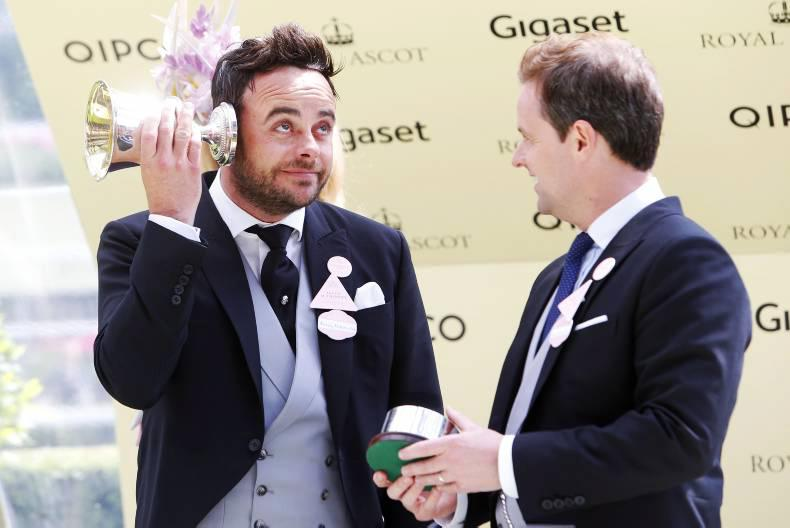 PARROT MOUTH: Out and about at Royal Ascot