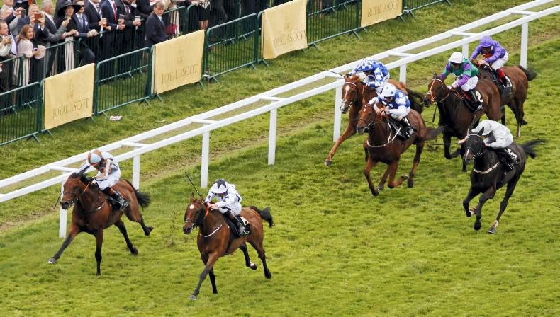ROYAL ASCOT: New Irish record as Commissioned prevails
