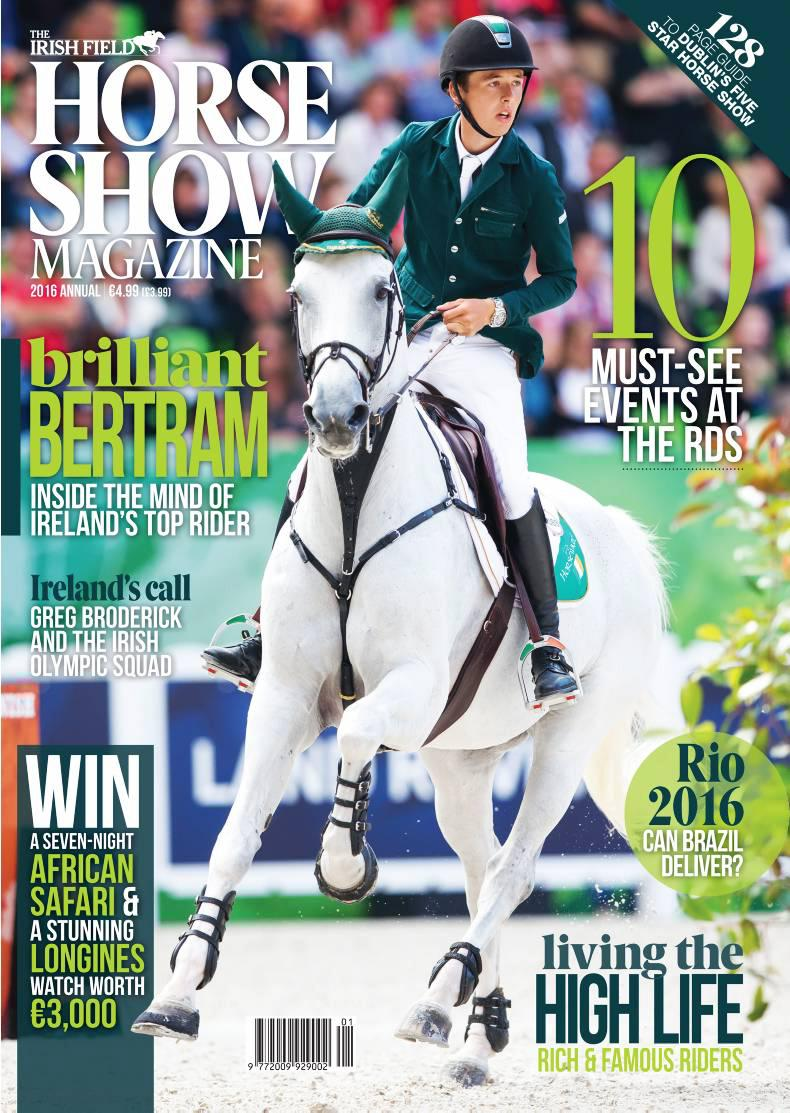 Horse Show magazine on sale Tuesday