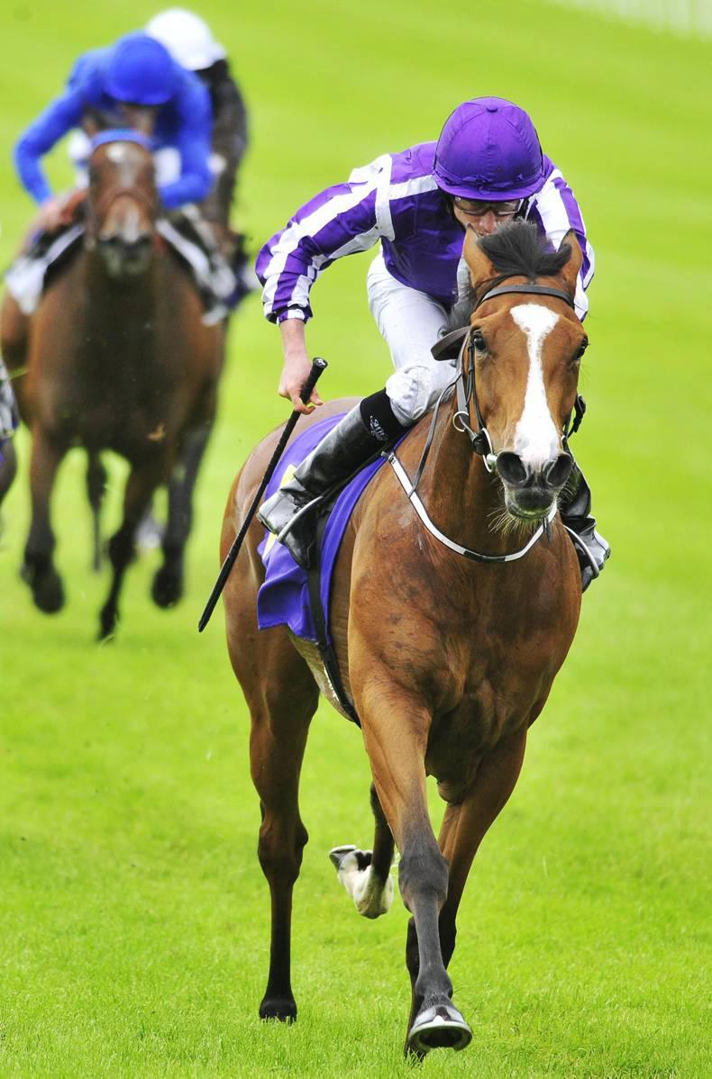 SIMON ROWLANDS: Smart Minding always gives her running