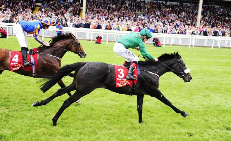 'Onwards and upwards' for dual Derby hero Harzand