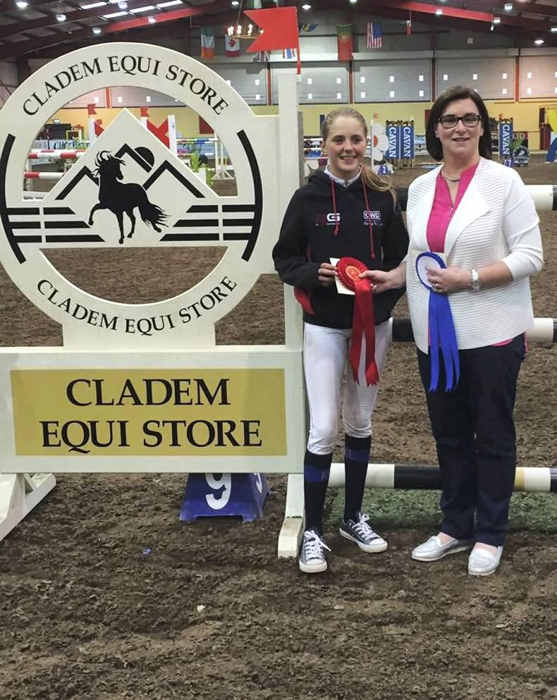 Top action at the Home Pony International at Cavan