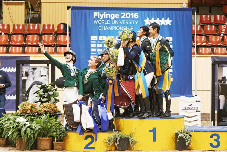 Irish student riders bag five silver medals