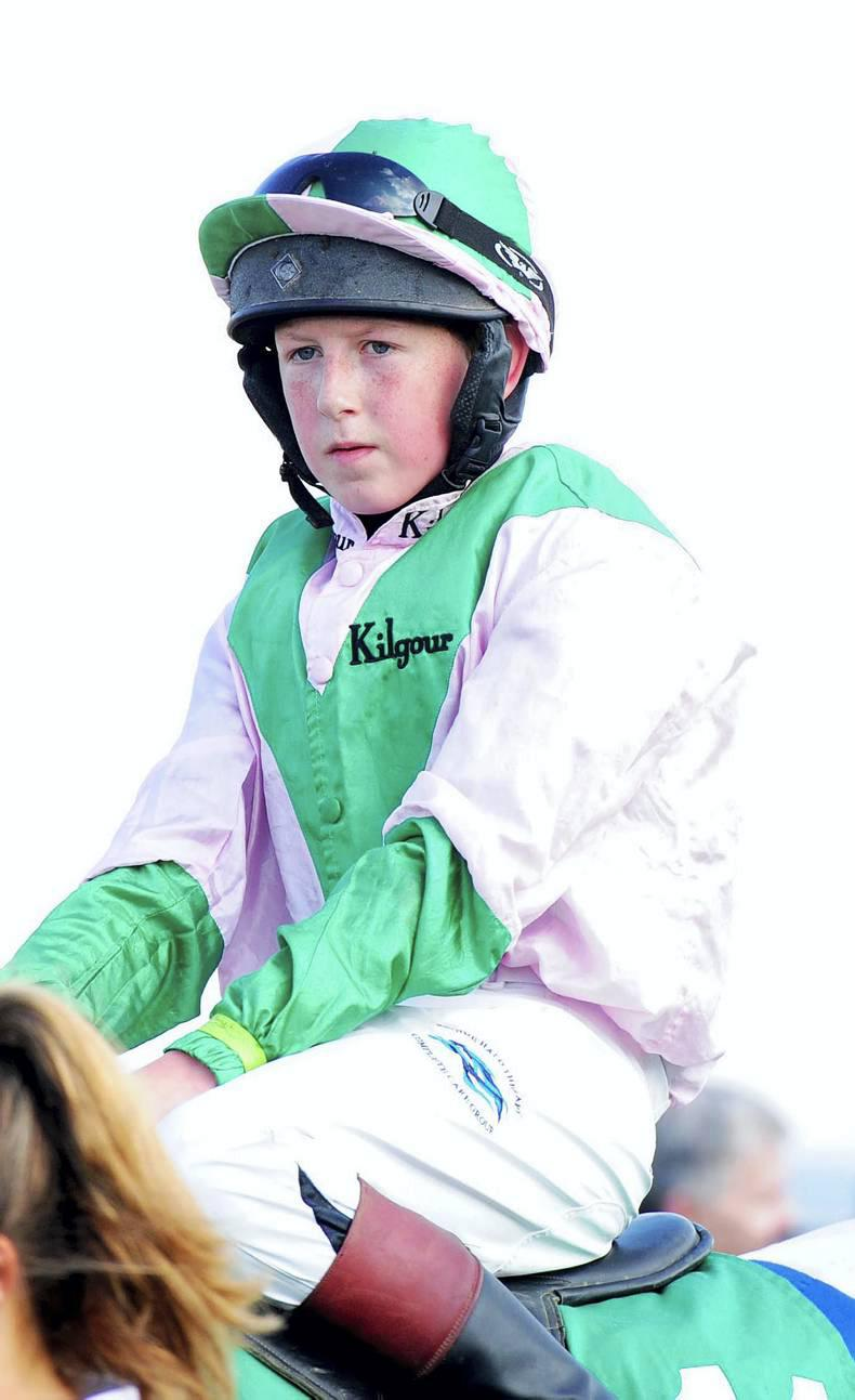 PONY RACING: Treble times for Taaffe