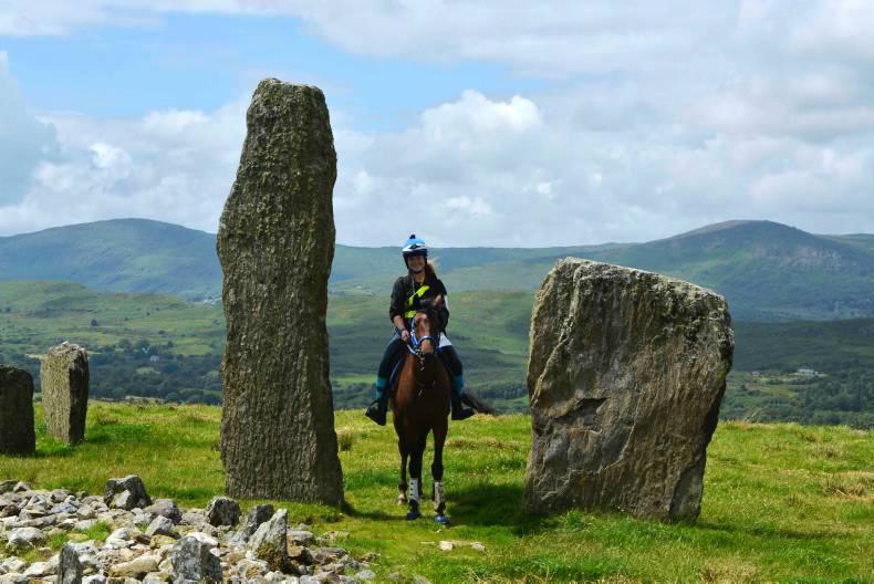 PONY TALES:Trec-ing through ancient lands