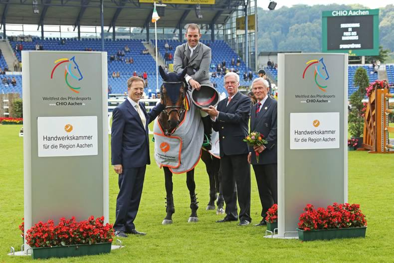 O'Connor and Gordon quick off the blocks at five-star Aachen