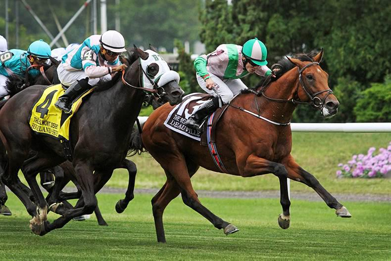 AMERICAN:  Determined Deauville gets big win