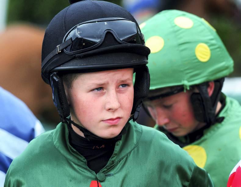 PONY RACING:  Twenty-year-old Tail gives Walsh first win