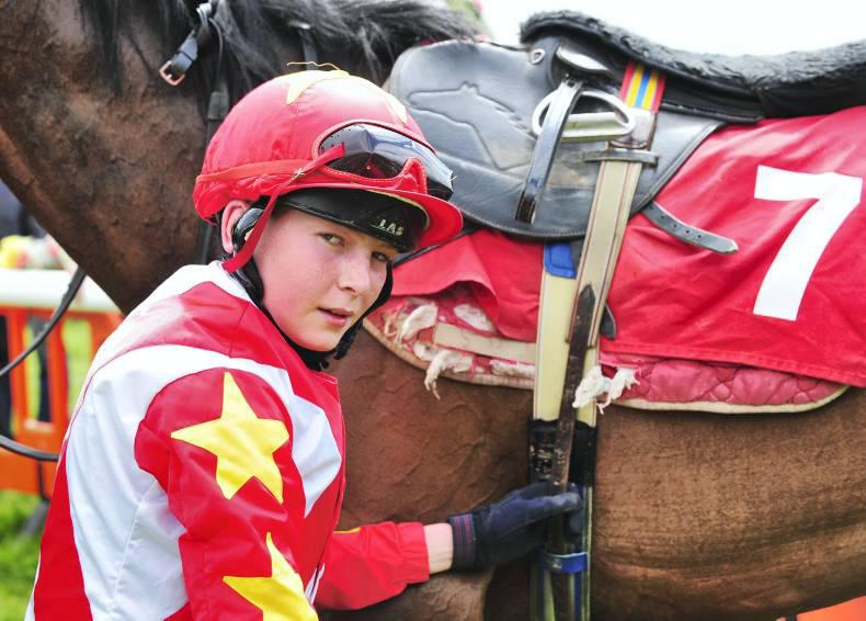PONY RACING:  Mikey the master with four more