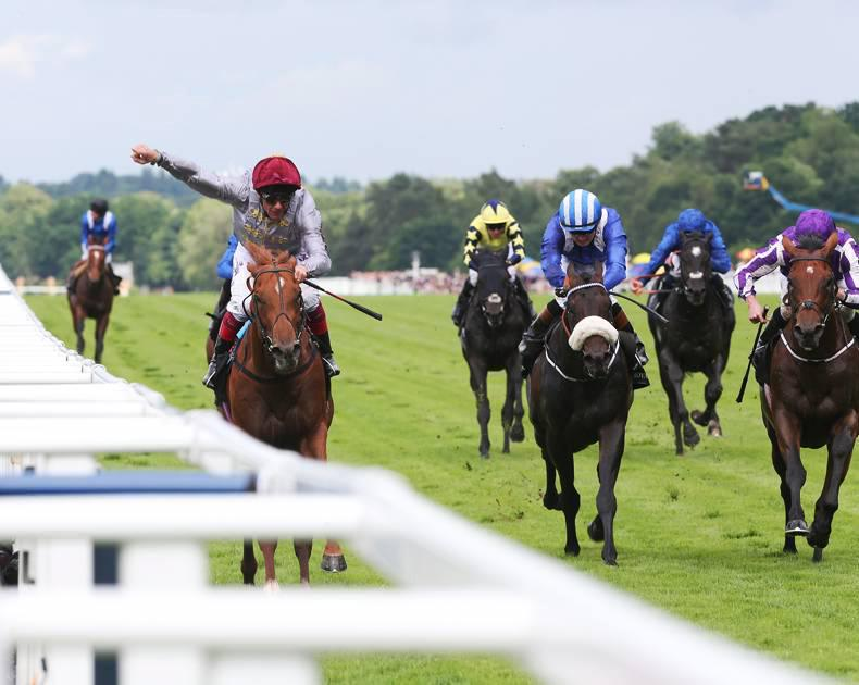 DONN MCCLEAN: Another duel at Goodwood