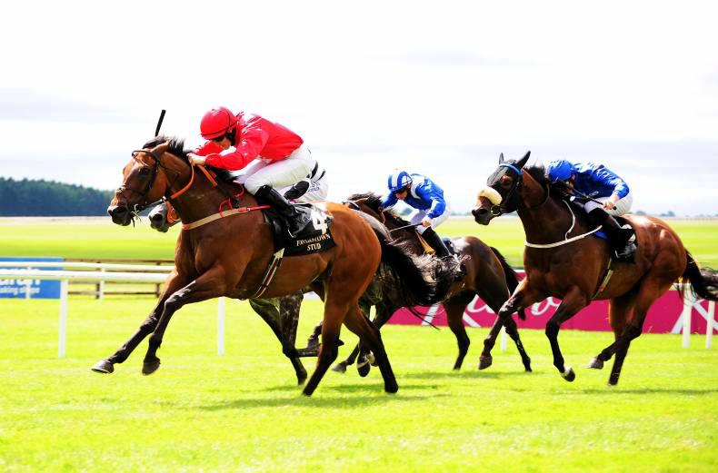 CURRAGH SUNDAY: Gordon shows all his old class
