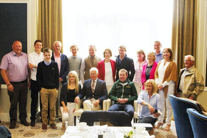 The Irish Field hosts 'Breakfast with the Stars' in the InterContinental