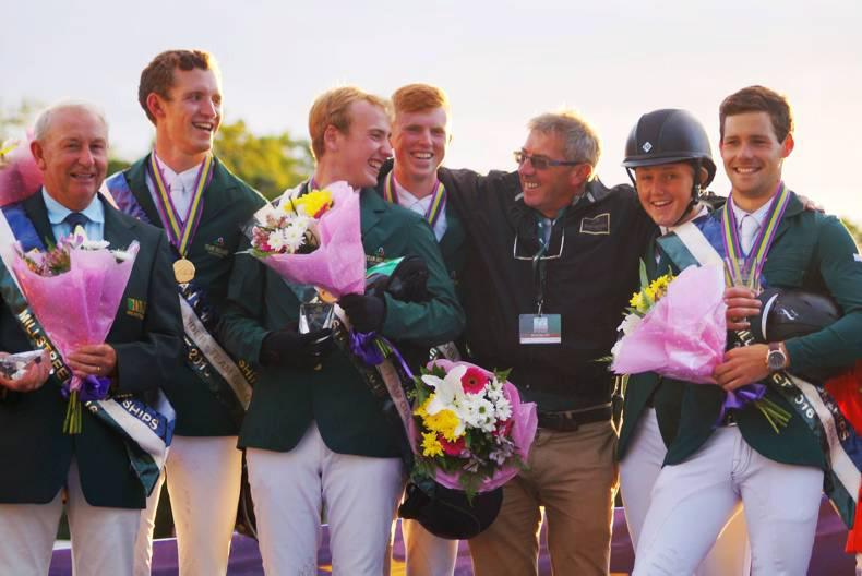 Irish young rider team wins Gold in Millstreet