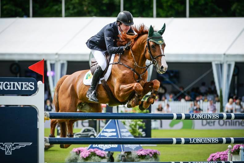 Stunning win for Greg Broderick in Jumping in the City Grand Prix