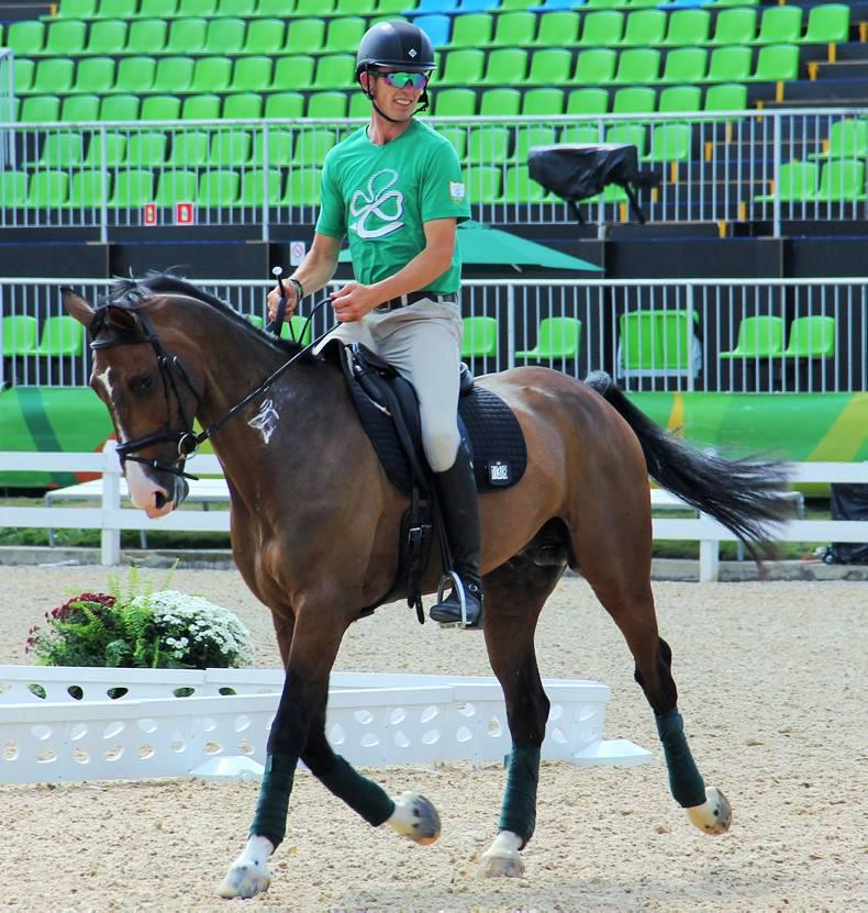 Rio 2016: Jonty Evans 'thrilled to bits' in Olympic top 10 after dressage