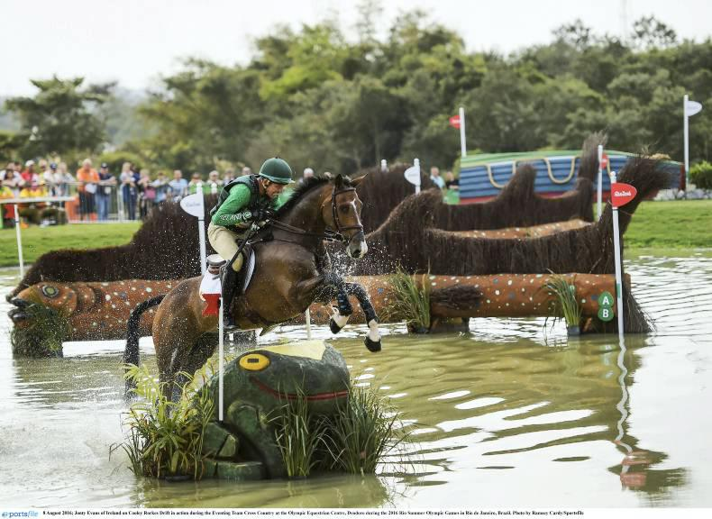 Jonty Evans makes the grade for Olympic individual final