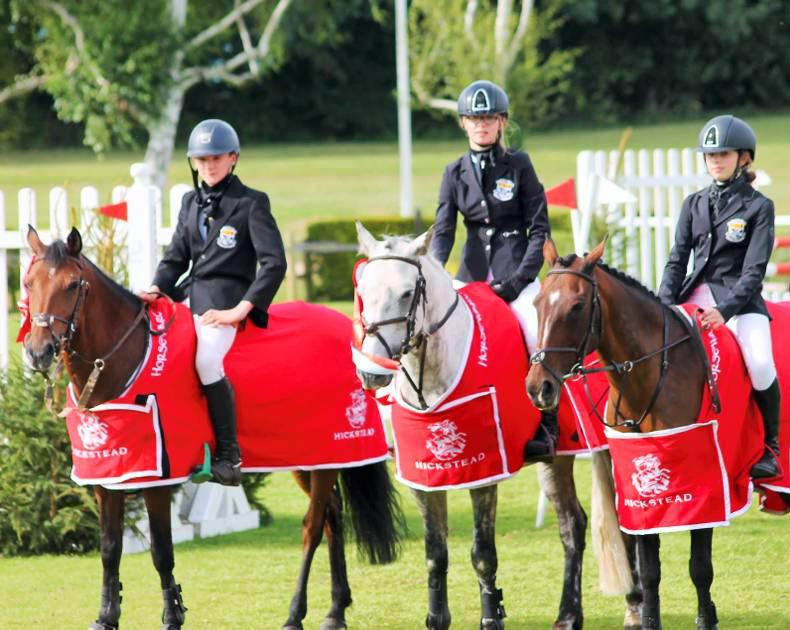 INTERNATIONAL:  Top marks for Newbridge students at Hickstead