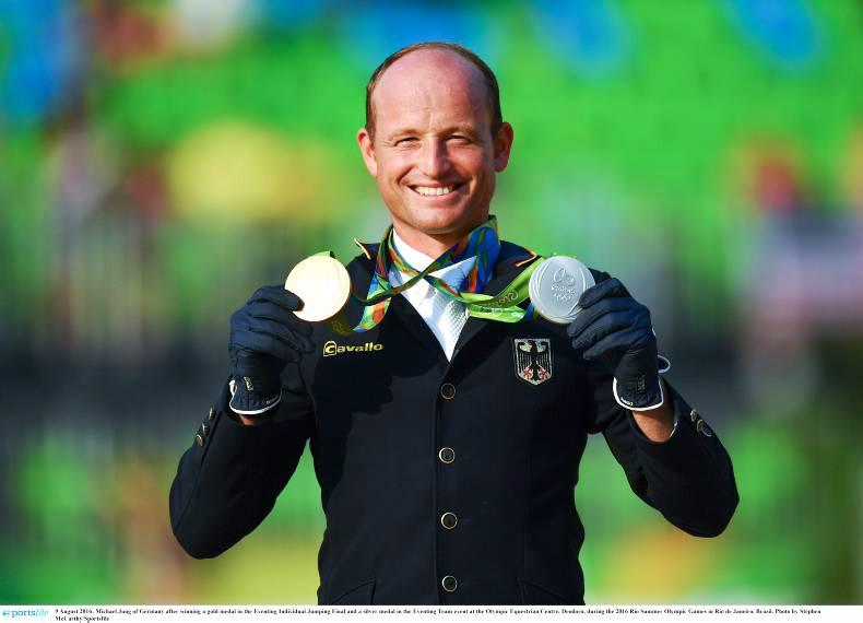 Rio 2016: Michael Jung does the double as Jonty Evans takes top 10 place