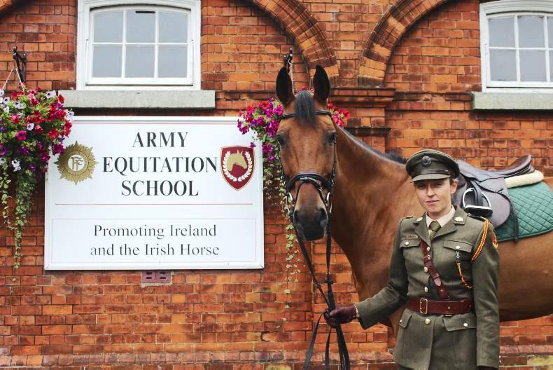 Crean makes history at Army Equitation School