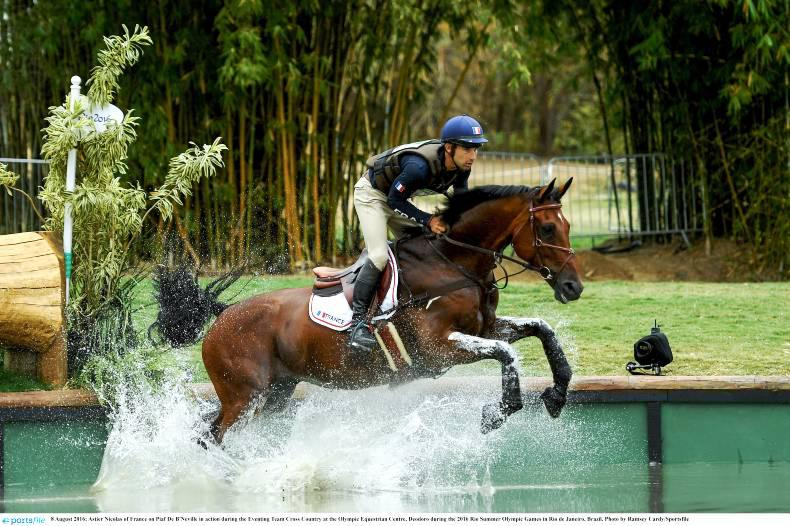 Aussies in front after spectacular Olympic eventing cross-country challenge