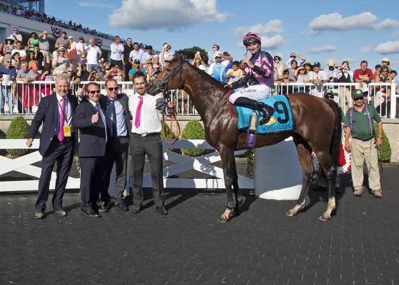 USA: David O'Meara lands Arlington Million with Mondialiste