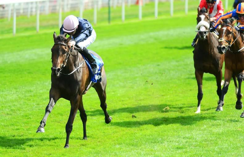 YORK THURSDAY: O'Brien in Seventh Heaven after landing 13th Group 1