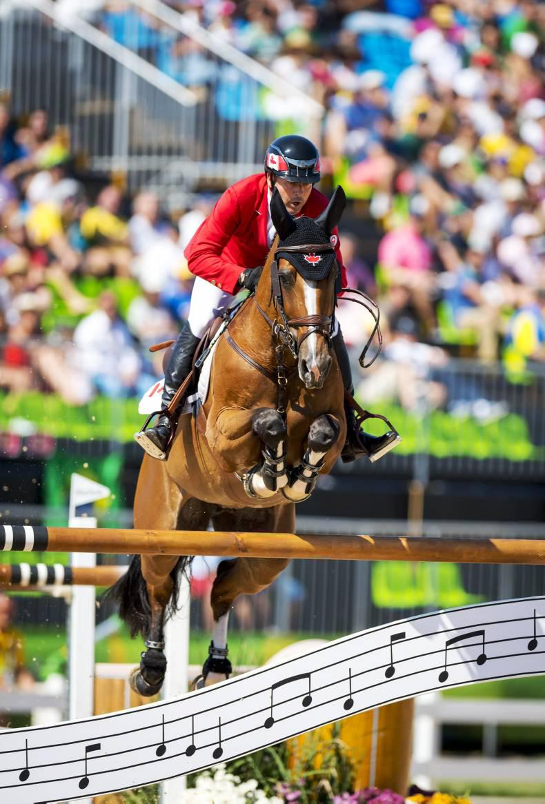 Rio 2016: Eric Lamaze on his Fine Lady in the jumping final at Rio