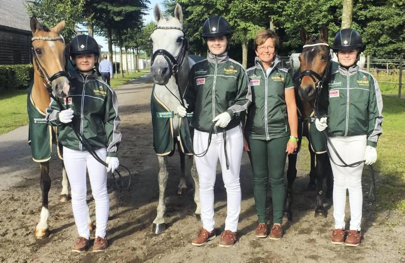 European Championships challenge for Irish pony riders