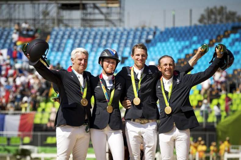 Golden double for France at Rio
