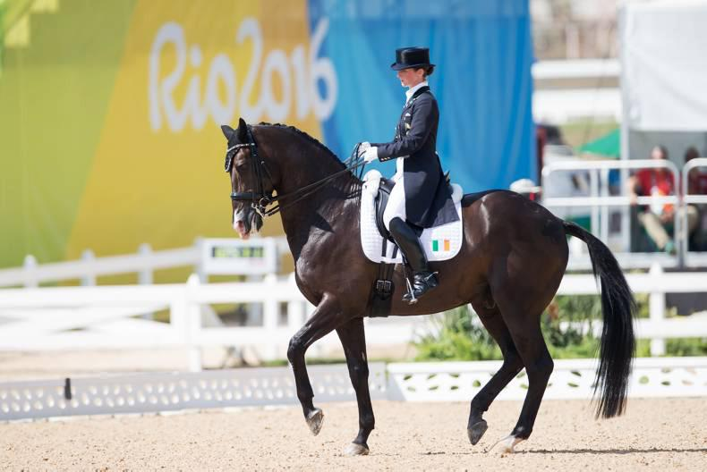 Reynolds makes Irish dressage history