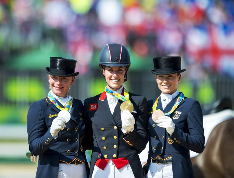 Emotional Dujardin takes second Olympic title