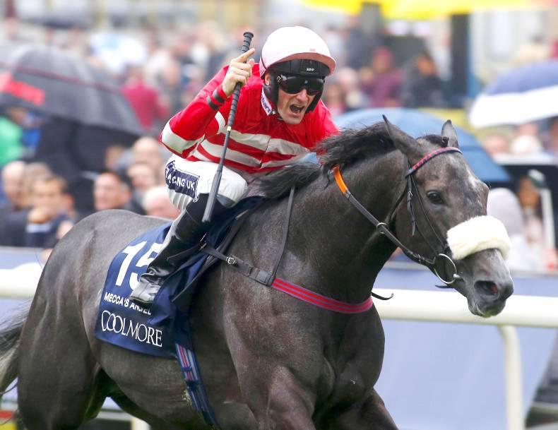 SIMON ROWLANDS: Mecca's Angel goes faster and faster