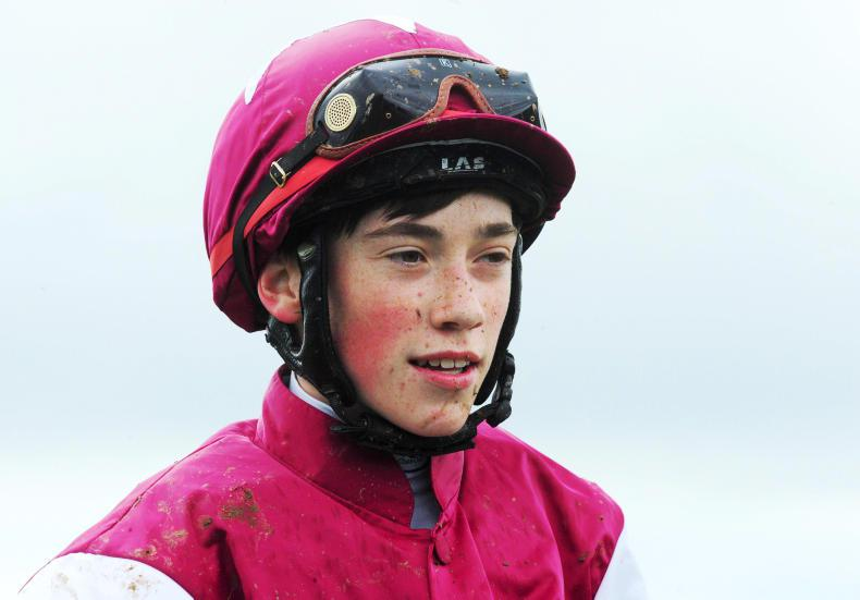 PONY RACING: Mikey stars with four-timer