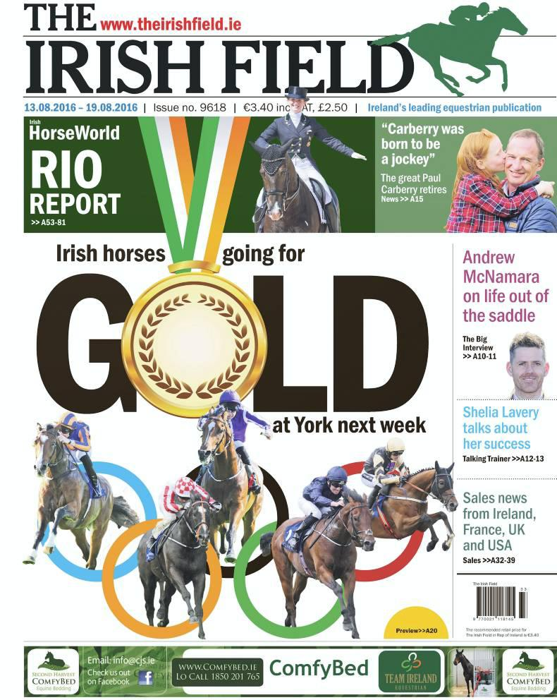 Inside The Irish Field this week