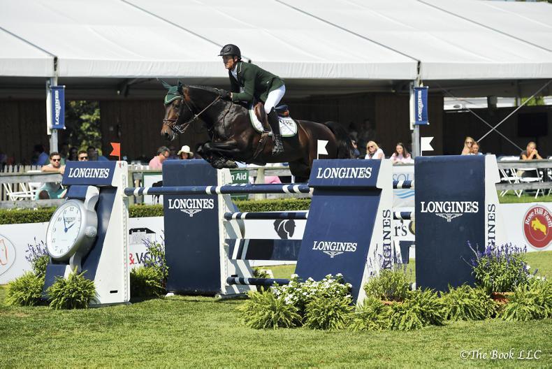 INTERNATIONAL: Moloney captures $300,000 Hampton Classic Grand Prix