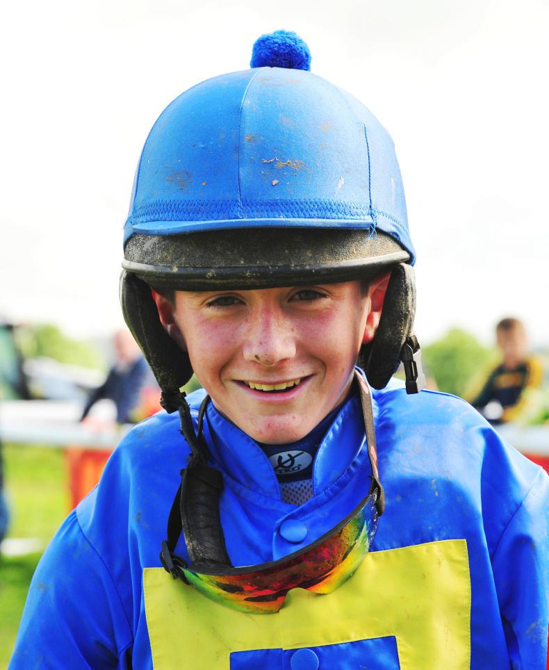 PONY RACING: Coen leads the way with a double