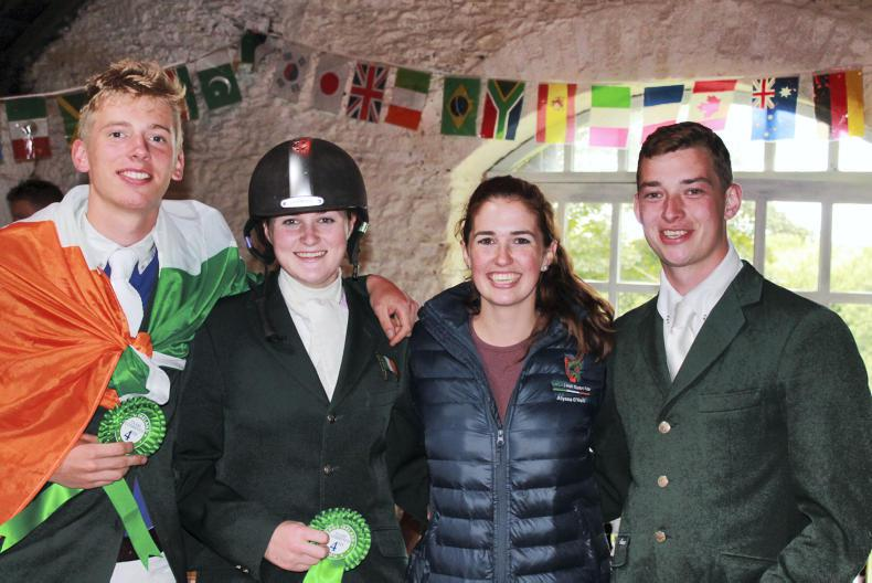 Irish students qualify for gold league at world finals