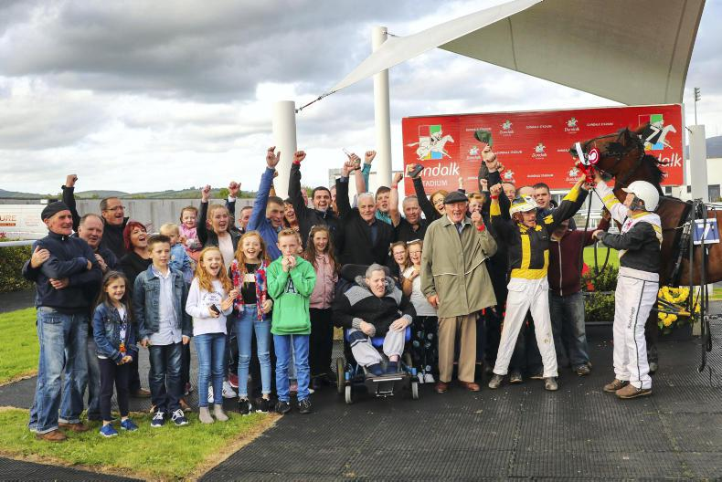 HARNESS RACING: Loughran does it 'Dettori' style