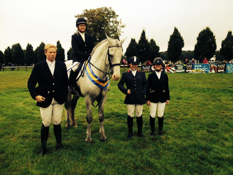 Lambert third at British Riding Clubs championships