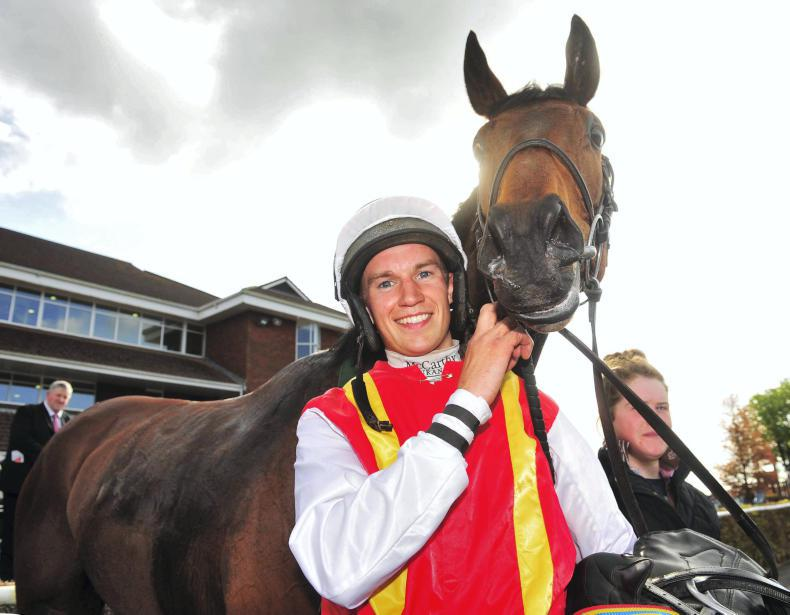 Adrian Heskin makes winning start to new rider role with Tom George
