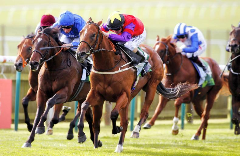 BRITAIN: Fanning roars home for first Group 1