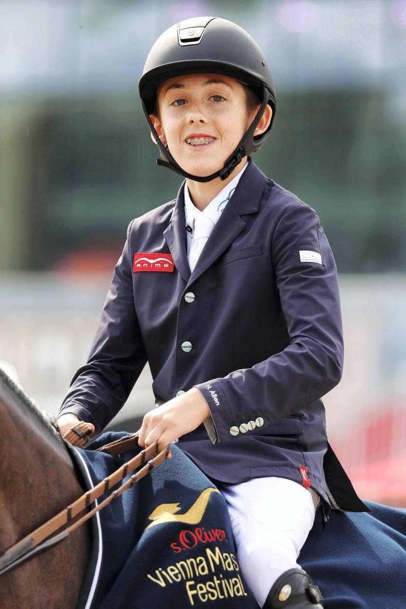 Irish pony riders shine at Barbizon CSIP