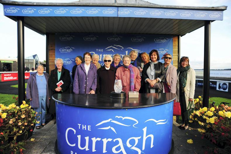 PARROT MOUTH: Curtain comes down at the Curragh